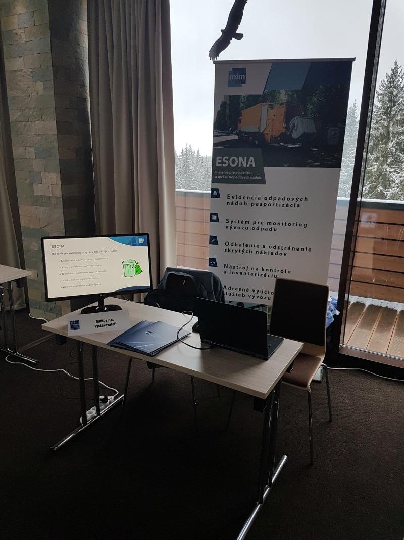 Naše riešenie ESONA na odbornej konferencií APÚMS v marci 2018