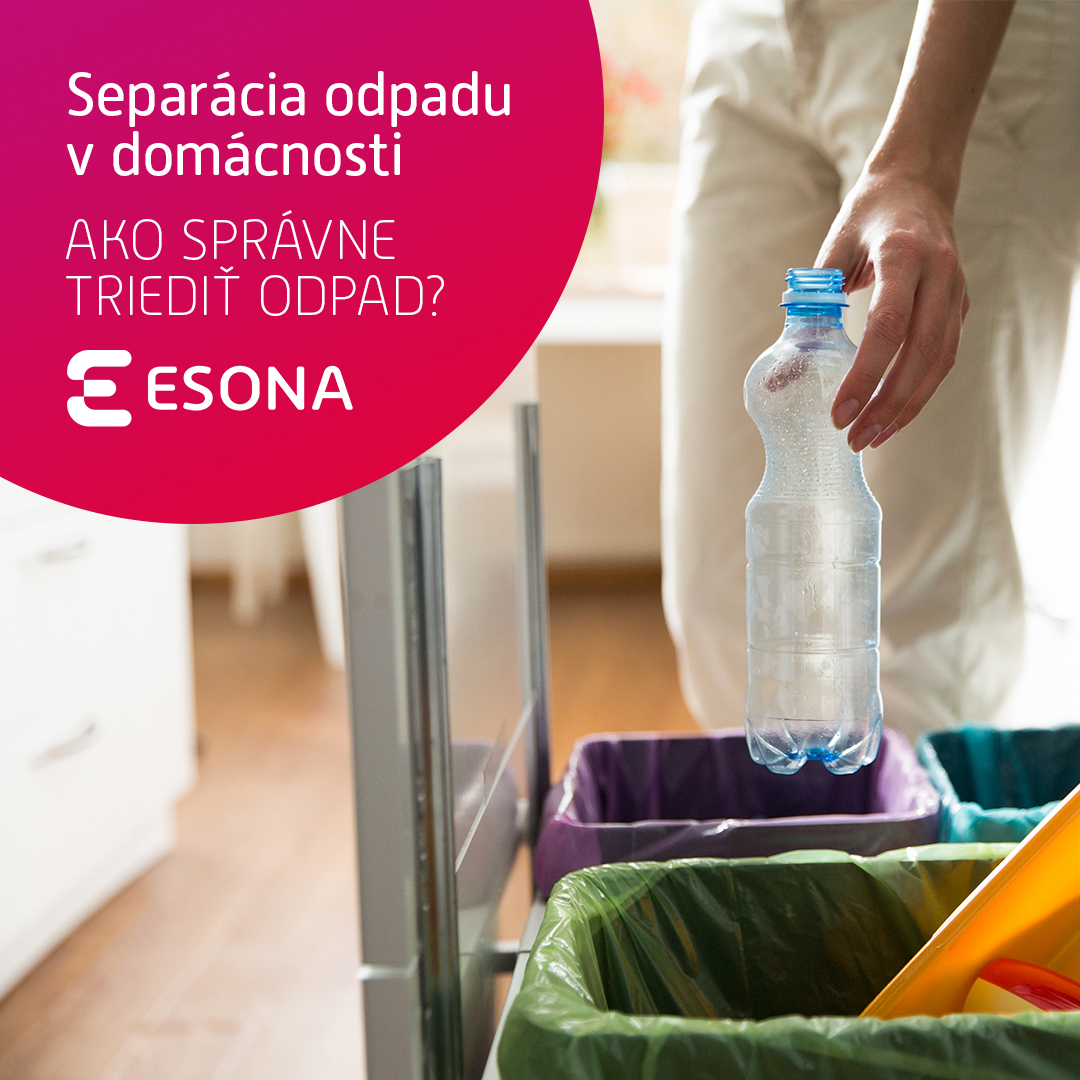 Separácia odpadu v domácnosti
