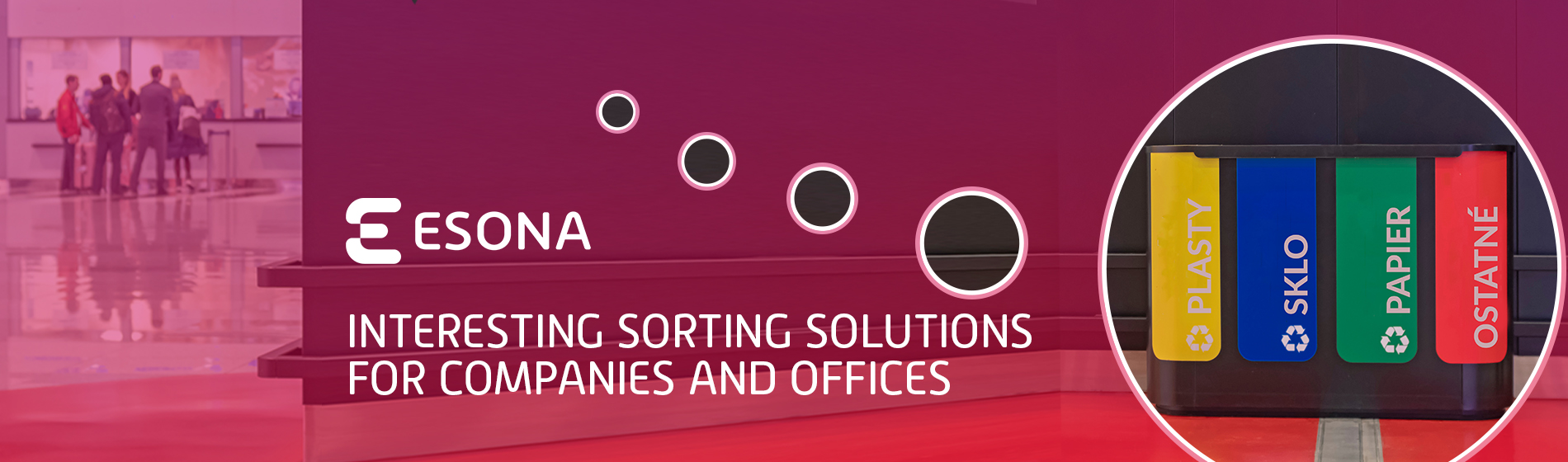 Interesting sorting solutions for companies and offices